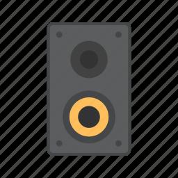 audio, equipment, music, sound, speaker, stereo, system icon