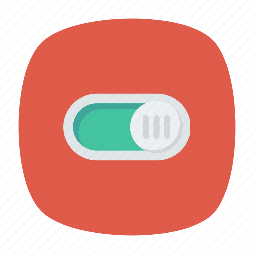 button, control, off, on icon