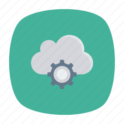cloud, config, server, setting icon