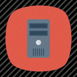 computer, hardware, mainframe, pc icon