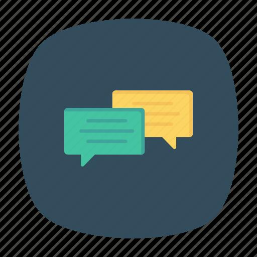 bubble, chat, conversation, messages icon