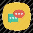 chat, conversation, discussion, messages