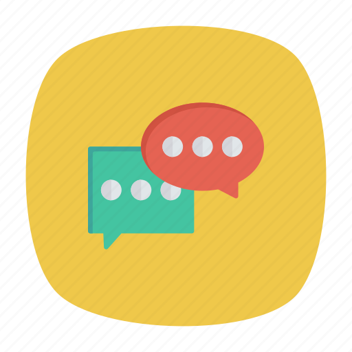 chat, conversation, discussion, messages icon