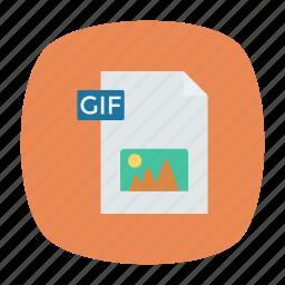 document, file, gif, image icon