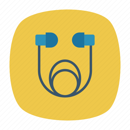 accessories, earphone, headphone, listen icon
