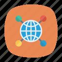 connect, earth, globe, world