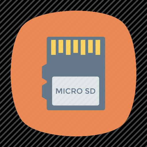chip, hardware, memorycard, simcard icon