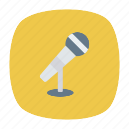 mike, sound, speaker, voice icon