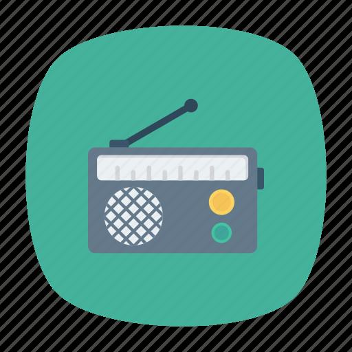 audio, music, radio, song icon