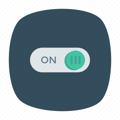 on, power, switch icon