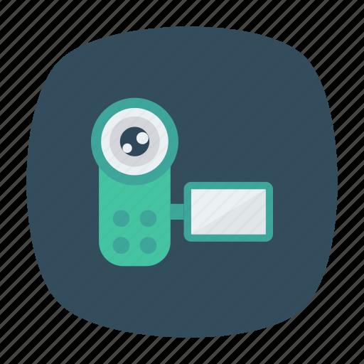 digital, dslr, photos, videocamera icon