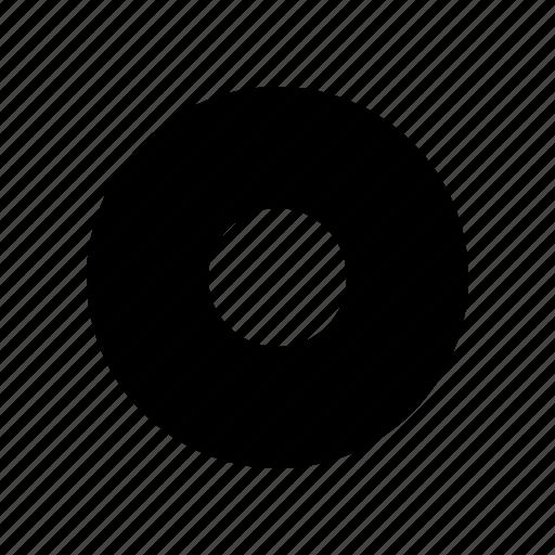 album, circle, media, multimedia icon