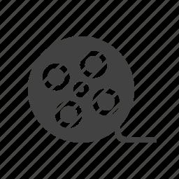 film, filmstrip, negative, recording, reel, roll, video icon