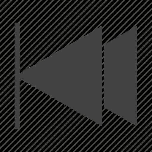 audio, music, play, player, previous button, previous track, song icon