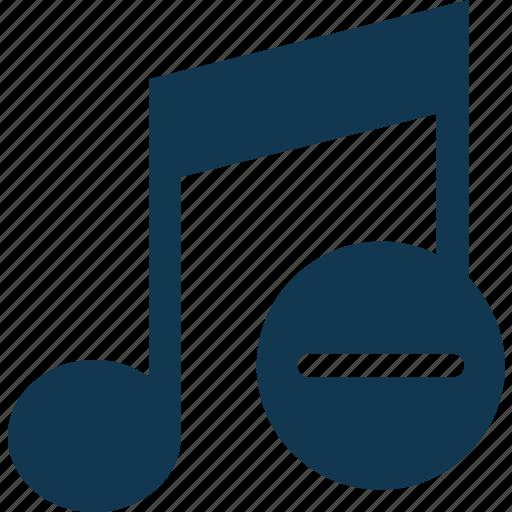 music note, note, remove music, remove sign, sound note, volume note icon