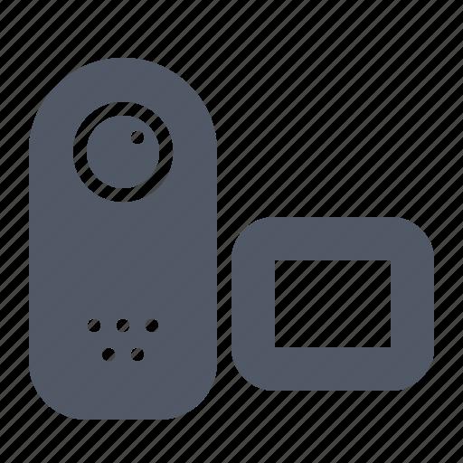 cam, camera, digital, film, handy, media, video icon
