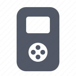 device, ipod, mobile, mp3, multimedia, music, player icon