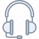audio, headphones, multimedia, music, sound, support icon