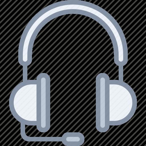 audio, headphones, multimedia, music, sound, support icon