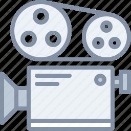 camera, film, movie, multimedia, record icon