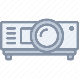 film, image, meeting, multimedia, projector, video icon