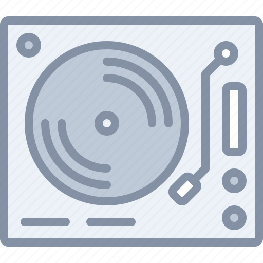 audio, multimedia, music, record, sound, turntable icon
