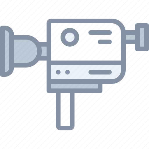 camera, film, movie, multimedia, record, video icon