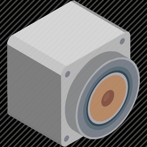 loudspeakers, music, music system, speaker, speaker box, subwoofer, woofer icon