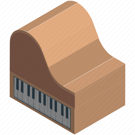 fortepiano, grand piano, multimedia, music, music instruments, piano, pianoforte icon