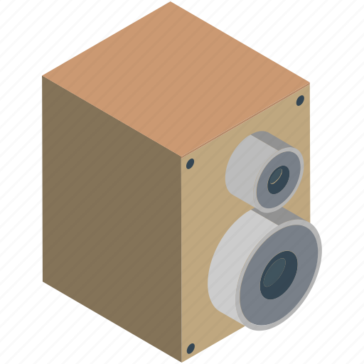 Audio, sound, speaker, speaker devices, speakers, woofer icon - Download on Iconfinder