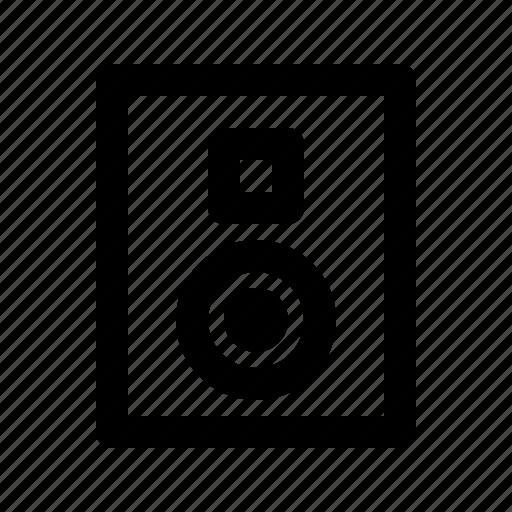 audio, multimedia, speaker, voice icon