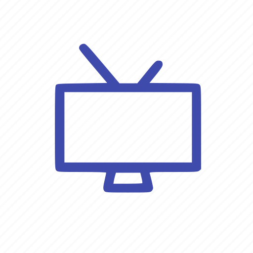 movies, signal, television, video icon