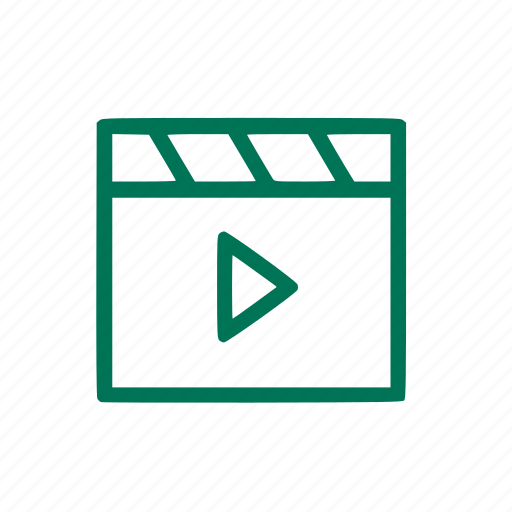 mediaplayer, movie, music, photo, video icon