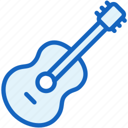 guitar, multimeda icon