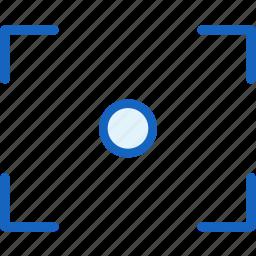 crop, multimeda icon