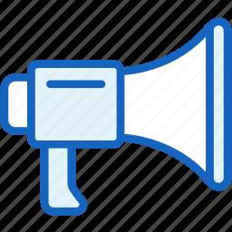 megaphone, multimeda, speaker icon