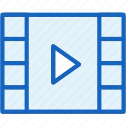movie, multimeda, play, video icon