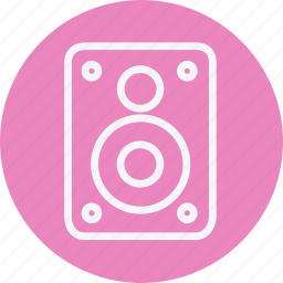 instrument, media, multimedia, music, photography, speaker, video icon