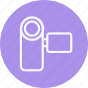 camcorder, instrument, media, multimedia, music, photography, video icon