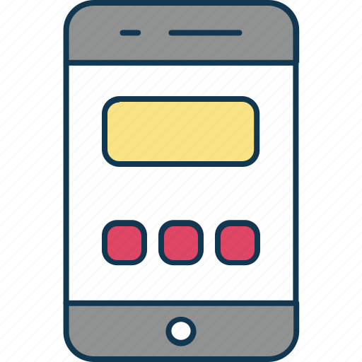 mobile, mobile app, mobile layout, mobile menu, mobile phone, smartphone icon