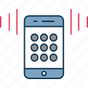 mobile, mobile ringing, mobile sound, mobile speaker, mobile volume, speaker icon