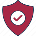 badge, defence, protection, shield, shield badge icon