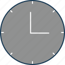 clock, time, timekeeper, timer, wall clock icon