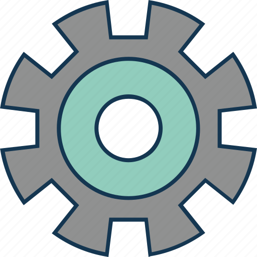 Cogwheel, configuration, gear wheel, mechanism, setting icon - Download on Iconfinder