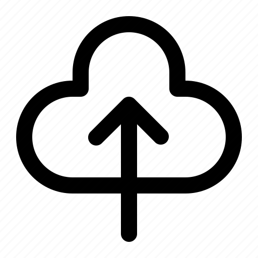 cloud, computing, server, storage, upload icon