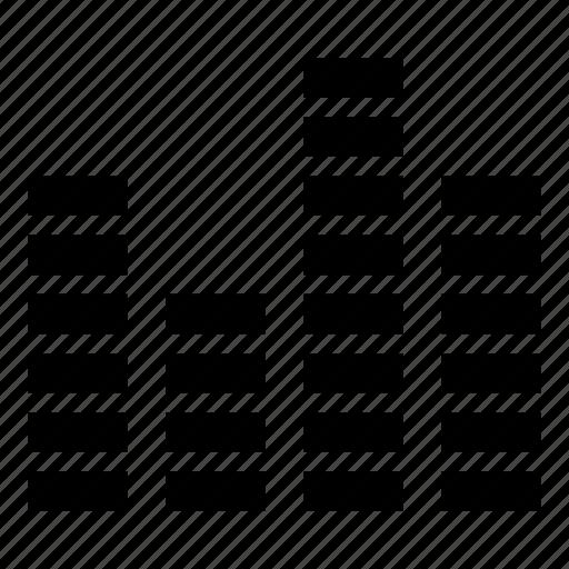 audio, music, spectrum, visualizer icon