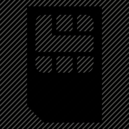 carrier, mobile phone, phone, sim, sim card icon