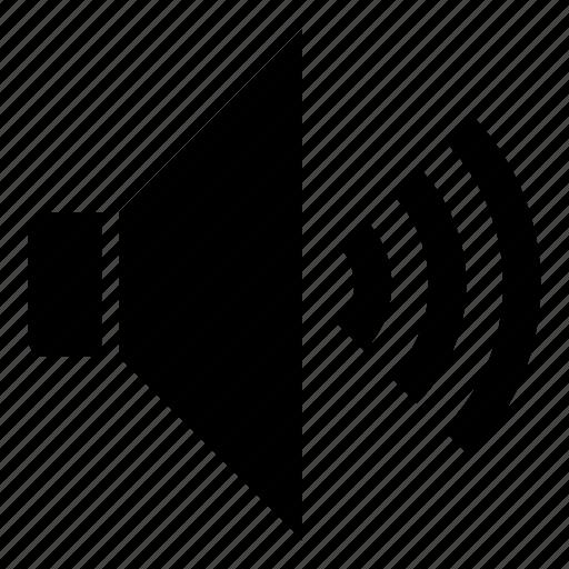 loud, media control, media player, speaker icon