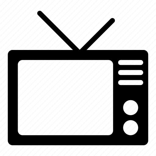 media, on air, television, tv, video icon