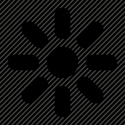 brightness, medium icon